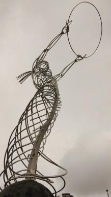 Angel - Beacon of hope sculpture