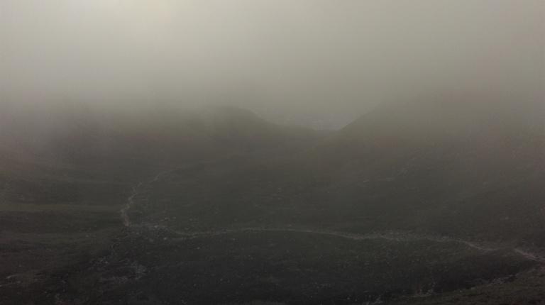 Slieve Donard mist