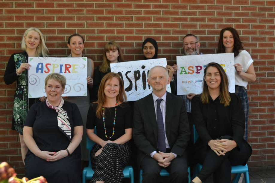 Aspire Careers Event Group Photo