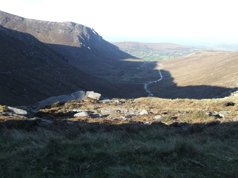 VIEW FROM HARE'S GAP ALONG THE TRASSEY TRACK