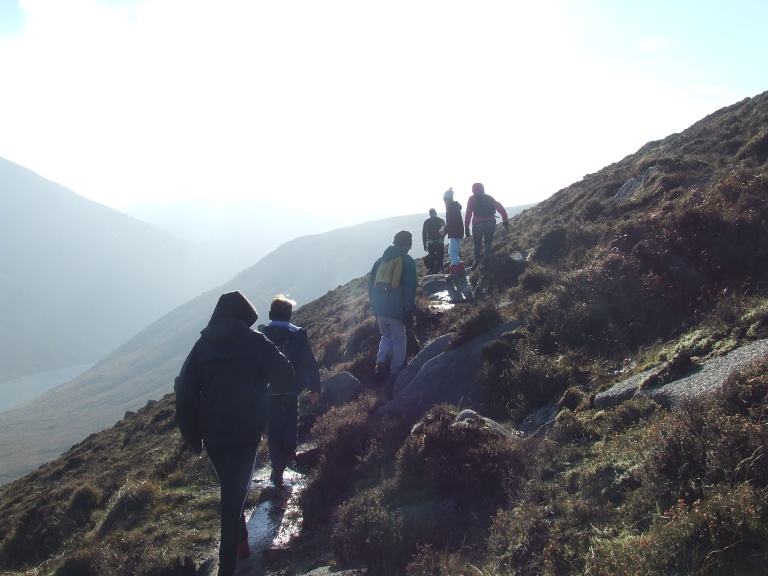 FOLLOWING THE TRAIL TO SLIEVE BEARNAGH