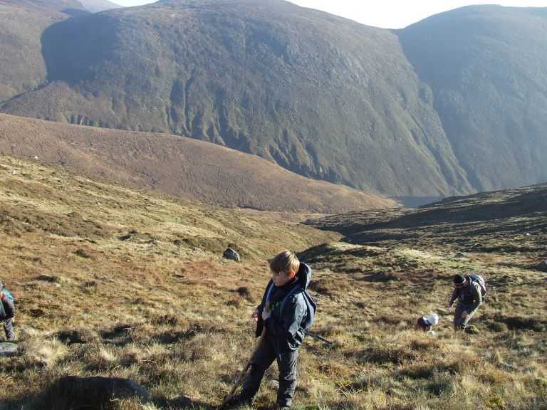 STEEP CLIMB UP SLIEVE BEARNAGH