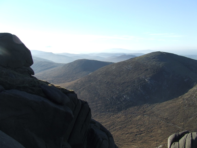 VIEW FROM SLIEVE BEARNAGH