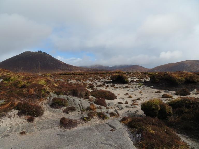 Base of Doan looking towards Slieve Bearnagh