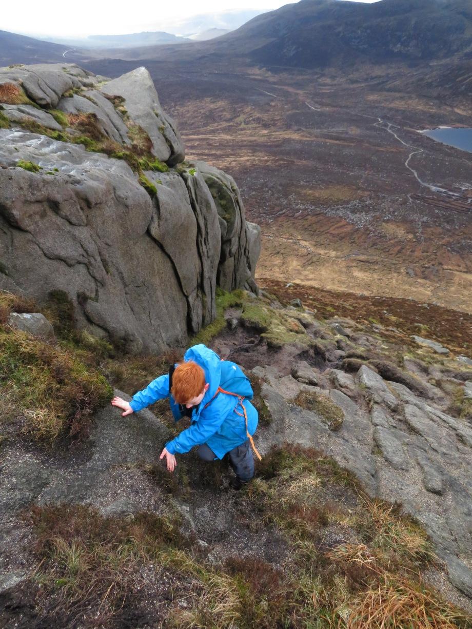 Doan - rock-climbing practice