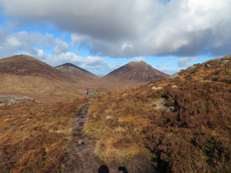 Looking from Doan towards Slieve Bearnagh