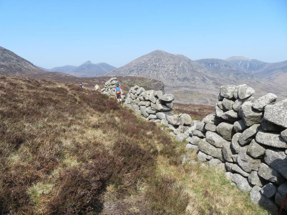 The Mourne Wall from Binnian