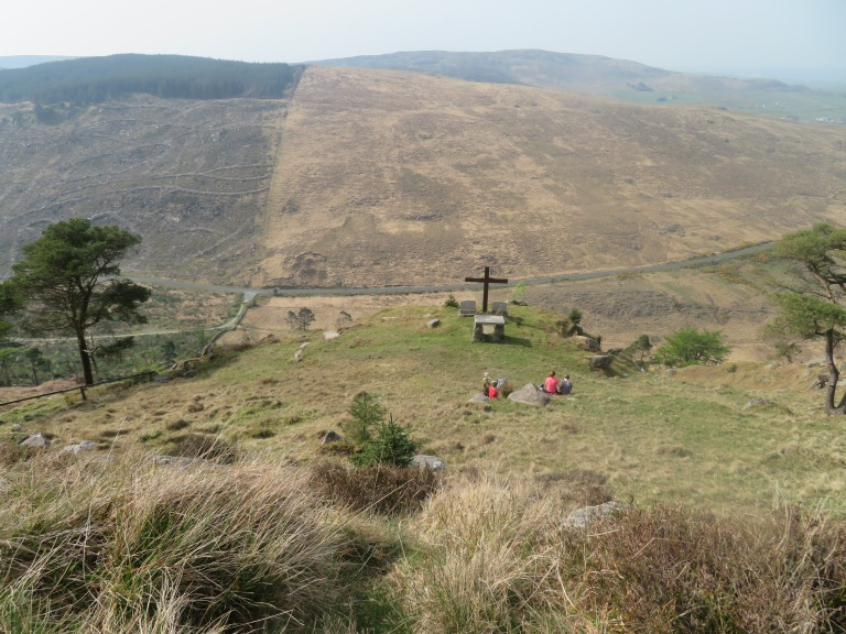 The cross near Batt's Wall