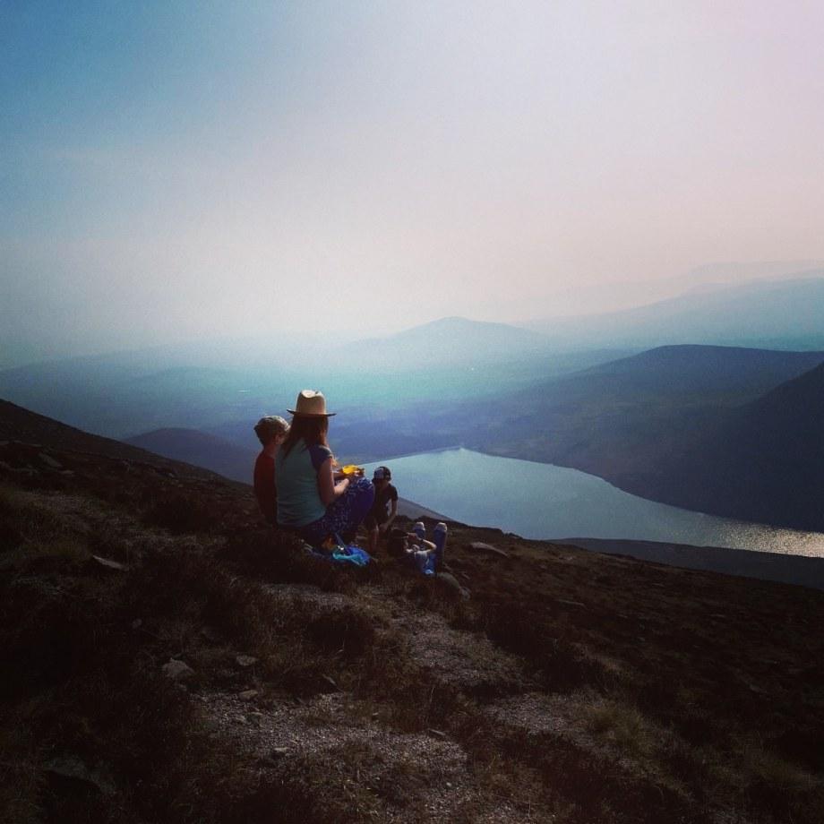 Silent Valley from Binnian