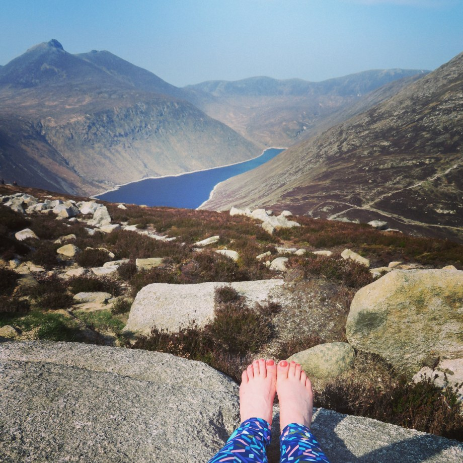 Barefoot on Binnian 2